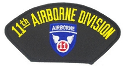 11th Airborne Division Patches